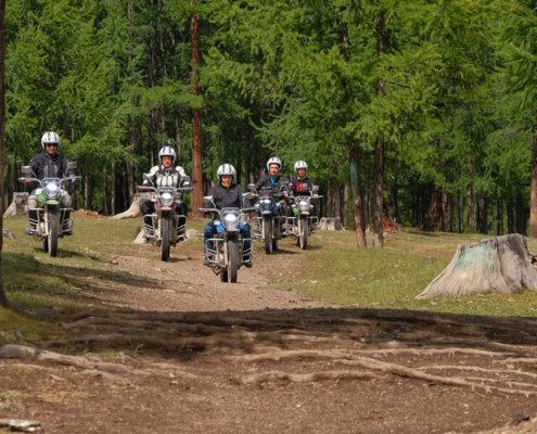 Avventure in moto - Tour in moto della Mongolia