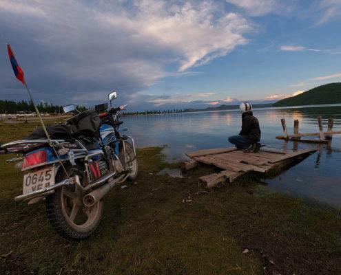 Scoprire la Mongolia in moto