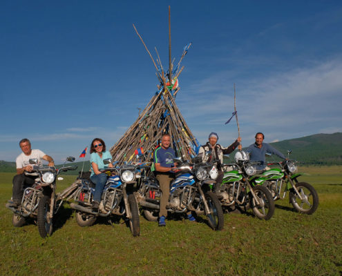 Discover Mongolia by Motorcycle